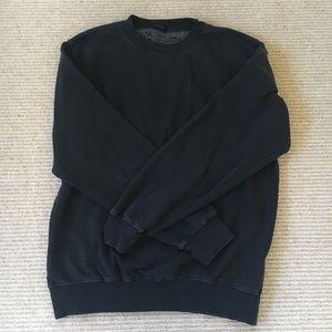 brandy melville black pullover sweatshirt